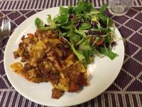 Fridaharju testar lasagne med soltorkade tomater
