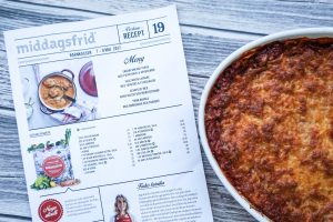 Middagsfrid lasagne