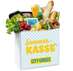 Sommarkasse City Gross med grillrätter